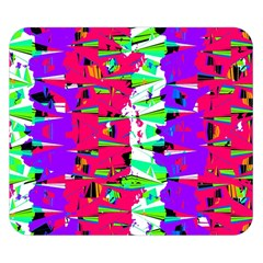 Colorful Glitch Pattern Design Double Sided Flano Blanket (small)  by dflcprints