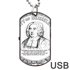 Seal Of Berkeley, California Dog Tag Usb Flash (two Sides) by abbeyz71