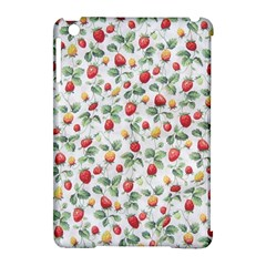 Strawberry Pattern Apple Ipad Mini Hardshell Case (compatible With Smart Cover) by Valentinaart