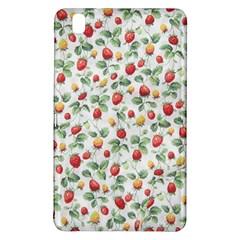 Strawberry Pattern Samsung Galaxy Tab Pro 8 4 Hardshell Case by Valentinaart