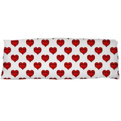Emoji Heart Shape Drawing Pattern Body Pillow Case (dakimakura) by dflcprints