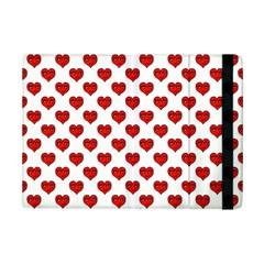 Emoji Heart Shape Drawing Pattern Ipad Mini 2 Flip Cases by dflcprints