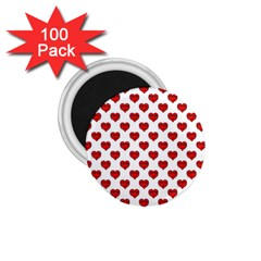 Emoji Heart Character Drawing  1 75  Magnets (100 Pack)  by dflcprints