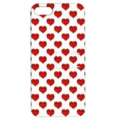 Emoji Heart Character Drawing  Apple Iphone 5 Hardshell Case With Stand by dflcprints