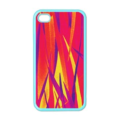 Pattern Apple Iphone 4 Case (color) by Valentinaart