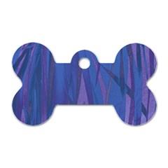 Pattern Dog Tag Bone (one Side) by Valentinaart
