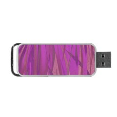 Pattern Portable Usb Flash (two Sides) by Valentinaart