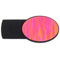 Pattern Usb Flash Drive Oval (4 Gb) by Valentinaart