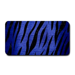 Skin3 Black Marble & Blue Brushed Metal (r) Medium Bar Mat by trendistuff