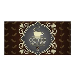 Coffee House Satin Wrap by Gogogo