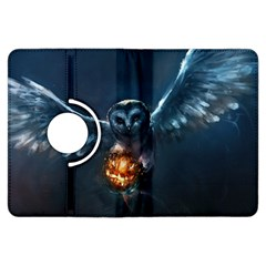 Owl And Fire Ball Kindle Fire HDX Flip 360 Case by Gogogo
