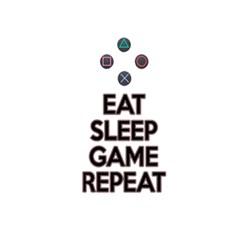 Eat Sleep Game Repeat 5 5  X 8 5  Notebooks by Valentinaart