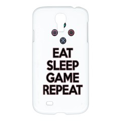 Eat Sleep Game Repeat Samsung Galaxy S4 I9500/i9505 Hardshell Case by Valentinaart