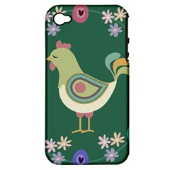 Easter Apple Iphone 4/4s Hardshell Case (pc+silicone) by Valentinaart