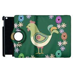Easter Apple Ipad 3/4 Flip 360 Case by Valentinaart