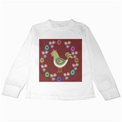 Easter Kids Long Sleeve T Shirts by Valentinaart