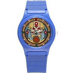 Sun Clock Plastic Sport Watch (small) by NoctemClothing