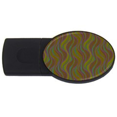 Pattern Usb Flash Drive Oval (2 Gb) by Valentinaart