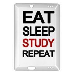 Eat Sleep Study Repeat Amazon Kindle Fire Hd (2013) Hardshell Case by Valentinaart
