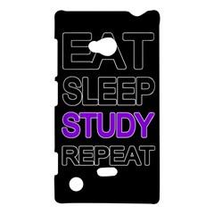 Eat Sleep Study Repeat Nokia Lumia 720 by Valentinaart