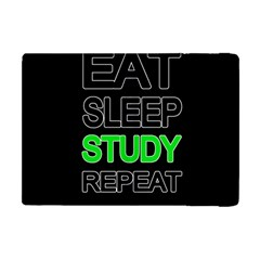 Eat Sleep Study Repeat Apple Ipad Mini Flip Case by Valentinaart
