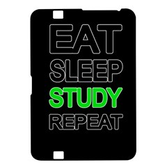 Eat Sleep Study Repeat Kindle Fire Hd 8 9  by Valentinaart