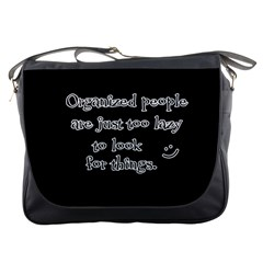Lazy Messenger Bags by Valentinaart
