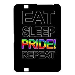 Eat Sleep Pride Repeat Kindle Fire Hd 8 9  by Valentinaart