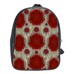 Paint On Water Falls,in Peace And Calm School Bags(large)  by pepitasart