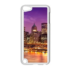City Night Apple iPod Touch 5 Case (White) by Gogogo