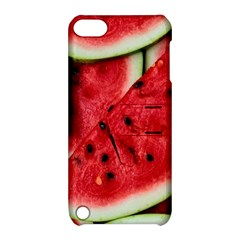 Fresh Watermelon Slices Texture Apple iPod Touch 5 Hardshell Case with Stand by Gogogo