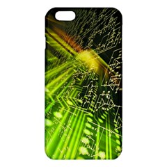 Electronics Machine Technology Circuit Electronic Computer Technics Detail Psychedelic Abstract Pattern iPhone 6 Plus/6S Plus TPU Case by Gogogo