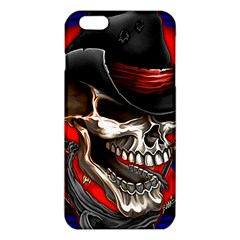 Confederate Flag Usa America United States Csa Civil War Rebel Dixie Military Poster Skull iPhone 6 Plus/6S Plus TPU Case by Gogogo