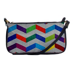 Charming Chevrons Quilt Shoulder Clutch Bags by Gogogo
