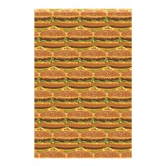 Delicious Burger Pattern Shower Curtain 48  X 72  (small)  by berwies