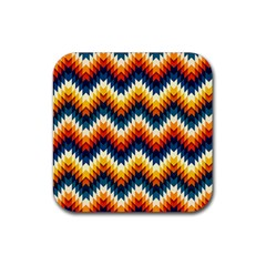 The Amazing Pattern Library Rubber Coaster (Square)