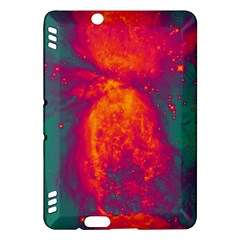 Space Kindle Fire Hdx Hardshell Case by Valentinaart