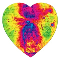 Space Jigsaw Puzzle (heart) by Valentinaart