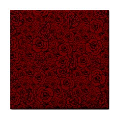 Red Roses Field Tile Coasters by designworld65