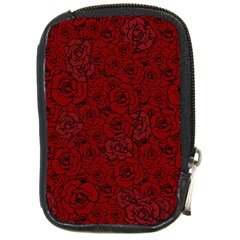 Red Roses Field Compact Camera Cases by designworld65