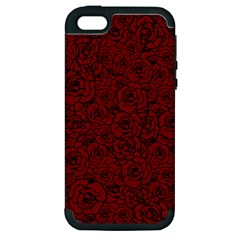 Red Roses Field Apple Iphone 5 Hardshell Case (pc+silicone) by designworld65