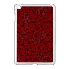Red Roses Field Apple Ipad Mini Case (white) by designworld65