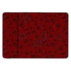 Red Roses Field Samsung Galaxy Tab 8 9  P7300 Flip Case by designworld65