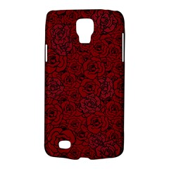 Red Roses Field Galaxy S4 Active by designworld65