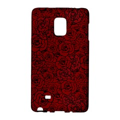 Red Roses Field Galaxy Note Edge by designworld65