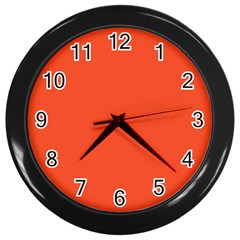 Trendy Basics   Trend Color Flame Wall Clocks (black) by tarastyle