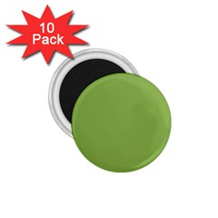 Trendy Basics   Trend Color Greenery 1 75  Magnets (10 Pack)  by tarastyle