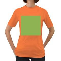 Trendy Basics   Trend Color Greenery Women s Dark T Shirt by tarastyle