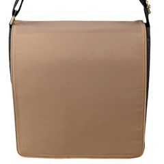 Trendy Basics   Trend Color Hazelnut Flap Messenger Bag (s) by tarastyle
