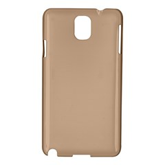 Trendy Basics   Trend Color Hazelnut Samsung Galaxy Note 3 N9005 Hardshell Case by tarastyle